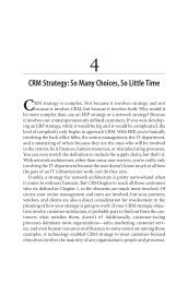 CRM Strategy: So Many Choices, So Little Time