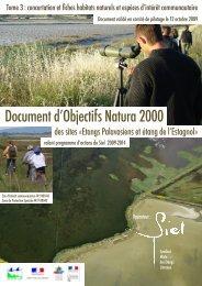 Telechargez les fiches espaces/habitats Natura 2000 - SIEL