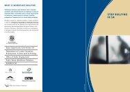 Stop Bullying in SA Flyer PDF, 58 KB