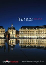France 2013/14 - Travelmakers