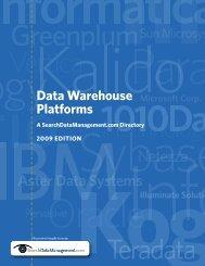 Data Warehouse Platforms