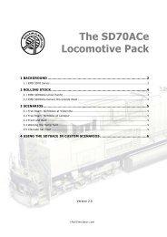 SD70ACe Locomotive Pack - Steam