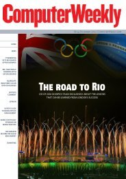 The road to Rio