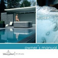 owner's manual - Villeroy & Boch