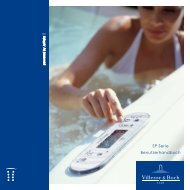 SP Serie Benutzerhandbuch - Villeroy & Boch