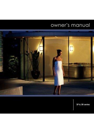 Villeroy & Boch Spa Owner's Manual (English)