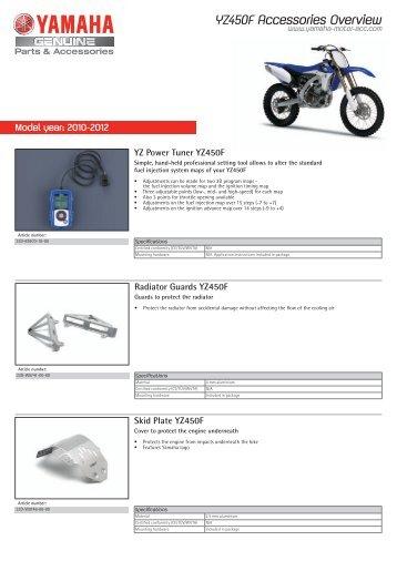 YZ Power Tuner YZ450F - Yamaha Motor Europe