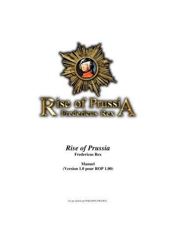 Rise of Prussia - Steam