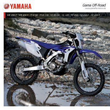 Gama Off-Road - Yamaha Motor Europe