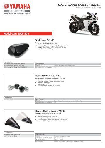 Seat Cover YZF-R1 - Yamaha Motor Europe
