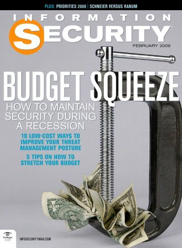 HOW TO MAINTAIN SECURITY DURING A RECESSION HOW TO ...