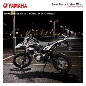 Gama Motocicletas 125 cc - Yamaha Motor Europe