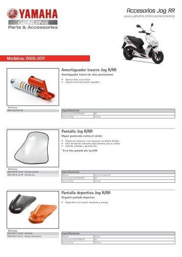 Accesorios Jog RR - Yamaha Motor Europe