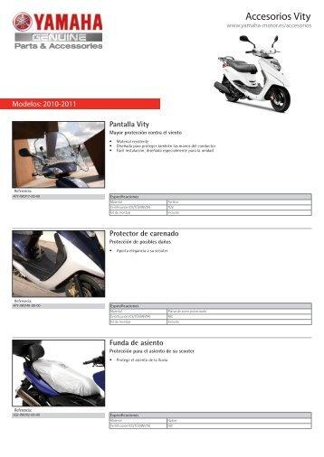 Accesorios Vity - Yamaha Motor Europe