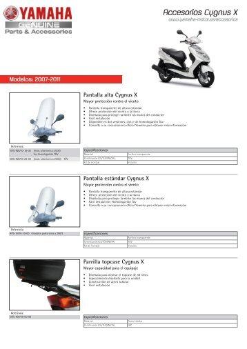 Accesorios Cygnus X - Yamaha Motor Europe