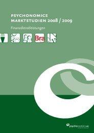 psychonomics marktstudien 2008 / 2009 - YouGov