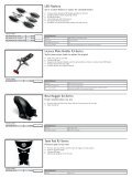 XJ6 DiversionF Accessories Overview - Yamaha Motor Europe - Page 3