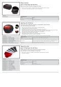 Accesorios Fazer8/FZ8 - Yamaha Motor Europe - Page 3
