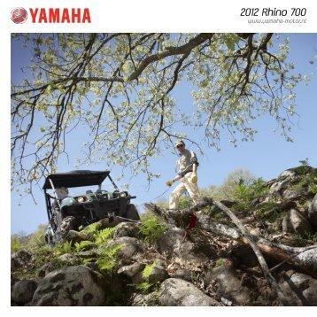 2012 Rhino 700 - Yamaha Motor Europe