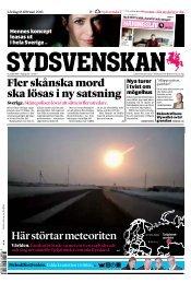 SDS-master 5.0.31 - Sydsvenskan