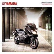 Gama Scooters - Yamaha Motor Europe