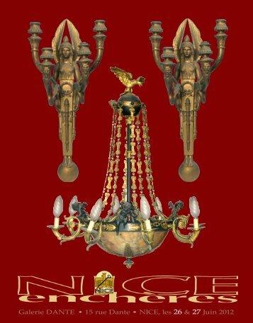 catalogue de la vente format pdf - Nice Enchères