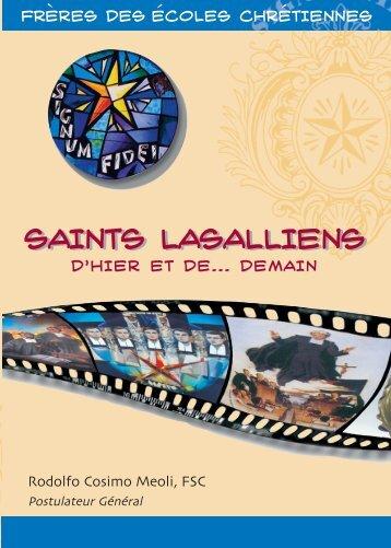 saints lasalliens d'hier… et de demain - La Salle.org