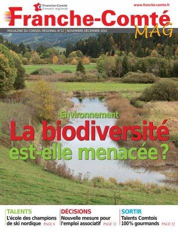N°22 : La biodiversité est-elle menacée - Conseil Régional de ...