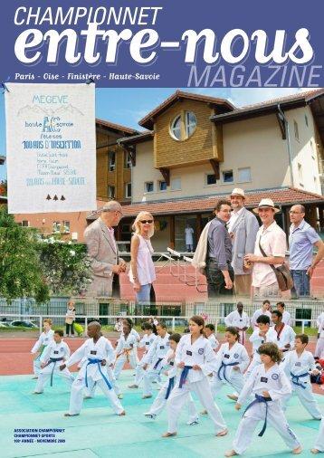 MAGAZINE - Association Championnet