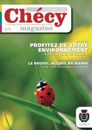 Chécy Magazine 7 - Printemps 2010