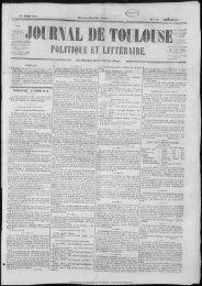 POLITIQUE ET LITTRAllff. - Bibliothèque de Toulouse