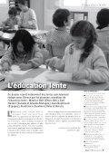 L'éducation lente, dossier de la revue - education-authentique.org - Page 3