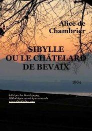 sibylle ou le châtelard de bevaix - Bibliothèque numérique romande