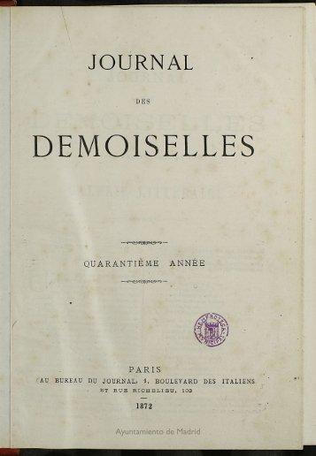 Journal des Demoiselles - Memoria de Madrid