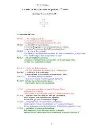 1. Totalité du Nouveau Testament 3 + 1 - Jacques-Youenn de ...