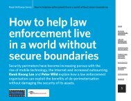 1 How to help law enforcement live in a world without secure ...