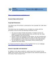 S'ANEANTIR OU S'EPANOUIR : - ResearchSpace@Auckland - The ...