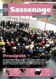 Sassenage en pages - N° 157 février 2011