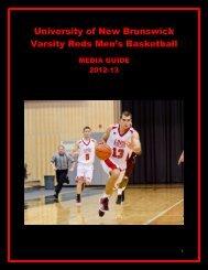Men s basketball media guide