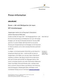 Presse-Information - Germany Travel