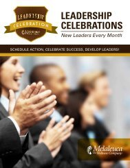 Leadership Celebration Booklet - Melaleuca