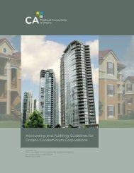 Accounting and Auditing Guidelines for Ontario Condominium ...