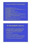 De l'immunité innée à l'immunité adaptative: un continuum. De ... - Page 2