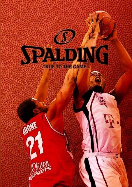 Spalding Online Katalog 2013 - Alles Basketball