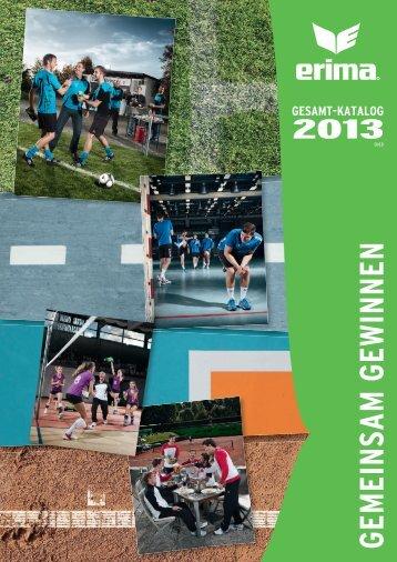 Erima Online Katalog 2013 -Sportbekleidung