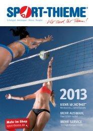 Sport-Thieme 2013 - Alles für den Teamsport