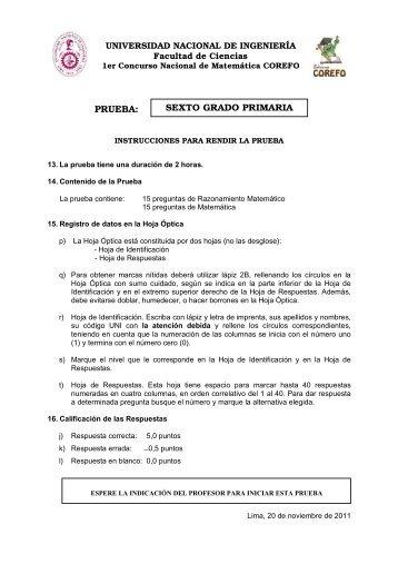 plan y programas sexto grado 2011 pdf