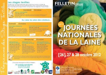 flyer jdl12.indd - Histoire de Laines