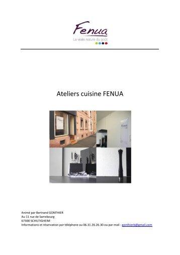 Ateliers cuisine FENUA