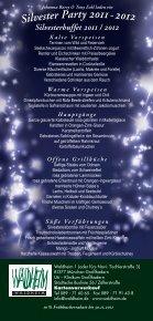 Silvester Party 2011-2012 Waldheim - Schlemmer - Buffet - Seite 2